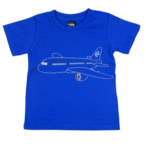 Kids Join the Dots T-shirt Small Royal Blue