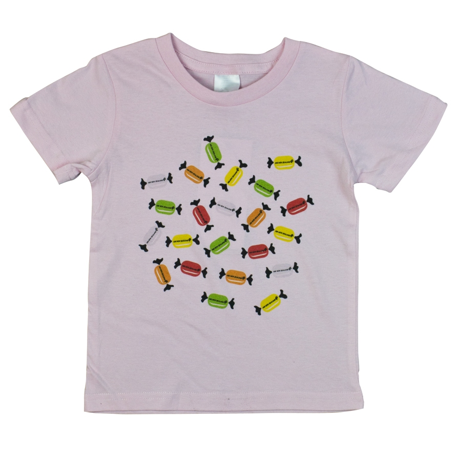 Kids Lolly T-shirts  Available in white and pink